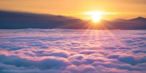 Rising above the clouds of illusion
